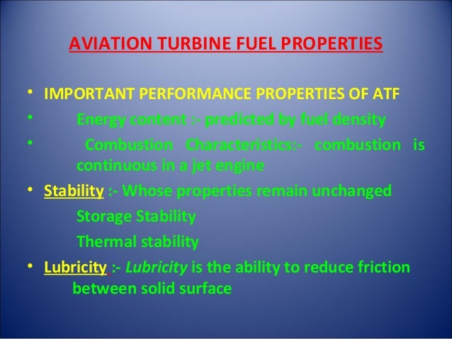 influence of aviation turbine fuel Determination of fuel system icing inhibitor content of aviation turbine kerosine by hplc application note energy and fuels abstract this application note describes.