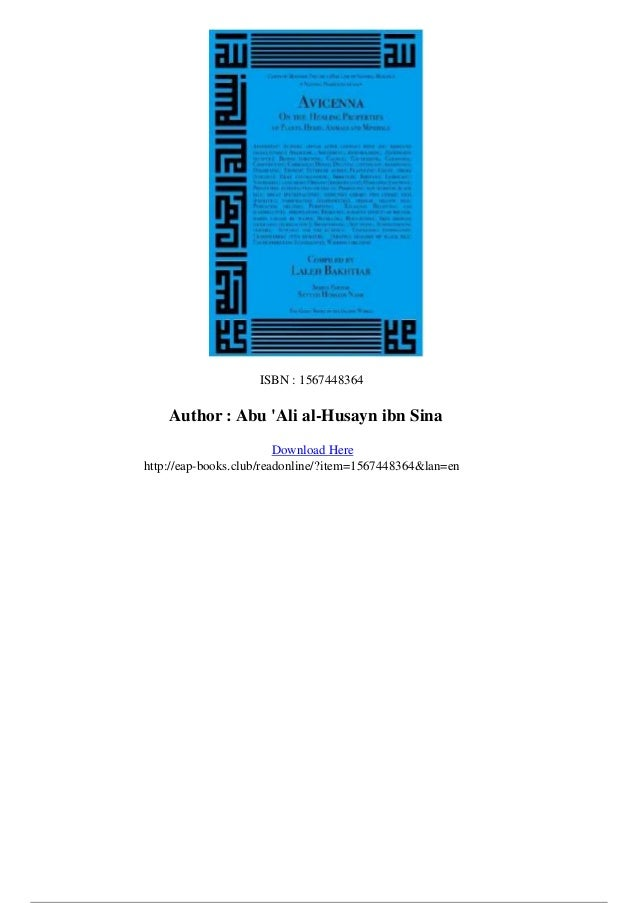 Avicenna Book Of Healing Pdf Download adultes investissement baroque cheveu infirmiere