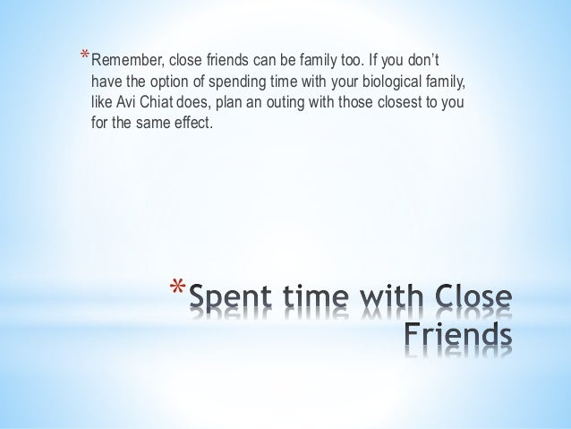 benefits of spending time with family
