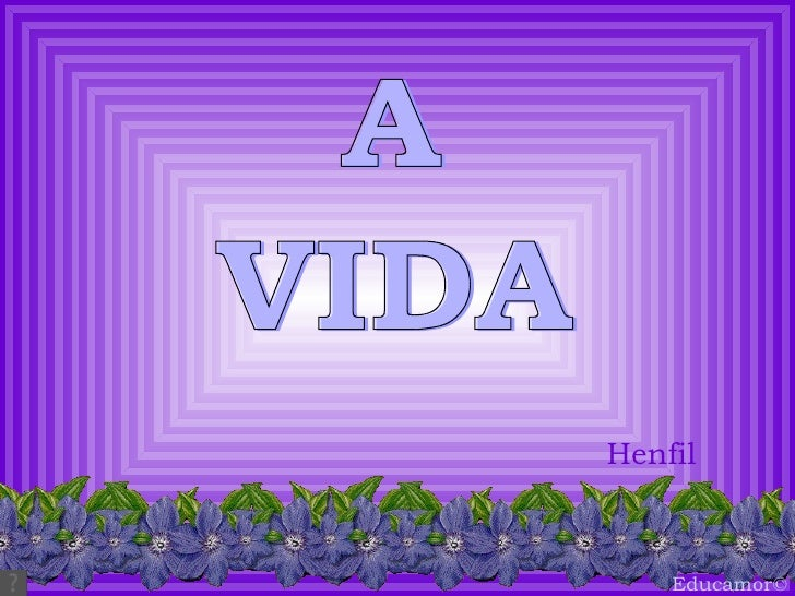 VIDA A Henfil Educamor ©