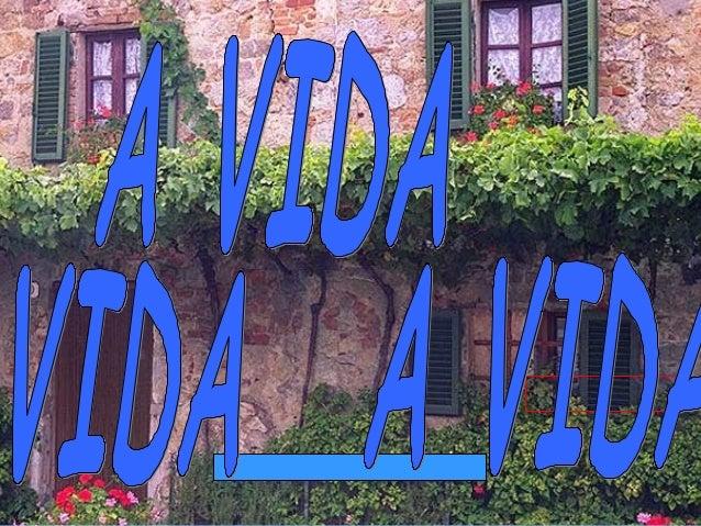 A Vida ...... É un reto –    Enfróntaa !
