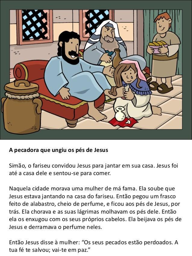 Jesus visita Marta e Maria Jesus e os seus discípulos continuaram a sua viagem e chegaram a um povoado. Ali uma mulher cha...