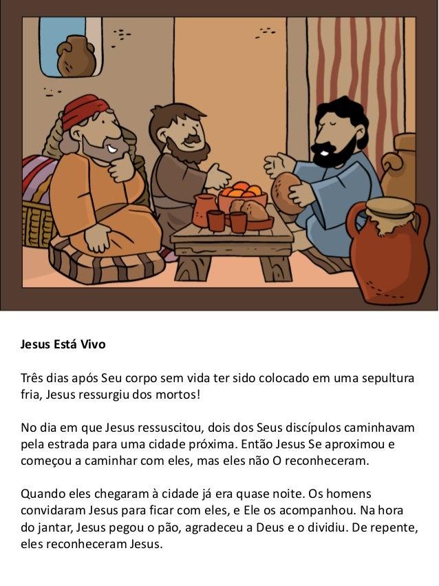 5 Jesus sobe aos Céus Durante quarenta dias, Jesus apareceu muitas vezes aos Seus discípulos. Uma vez, Ele apareceu a um g...