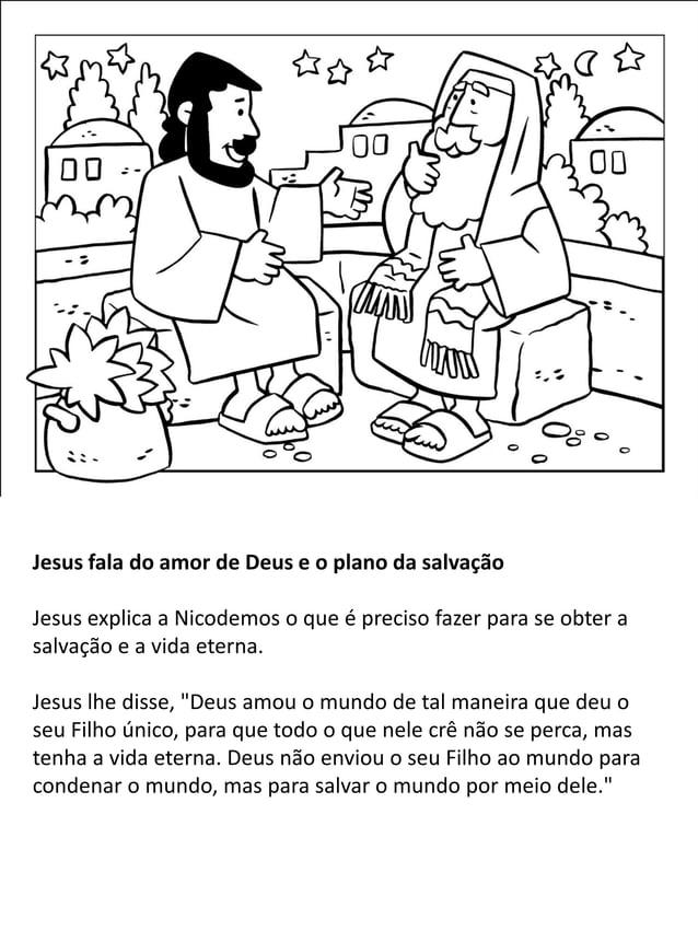"""Jesus fala para uma mulher samaritana sobre a """"água viva """" Enquanto Jesus e Seus seguidores viajavam por Samaria, Ele paro..."""