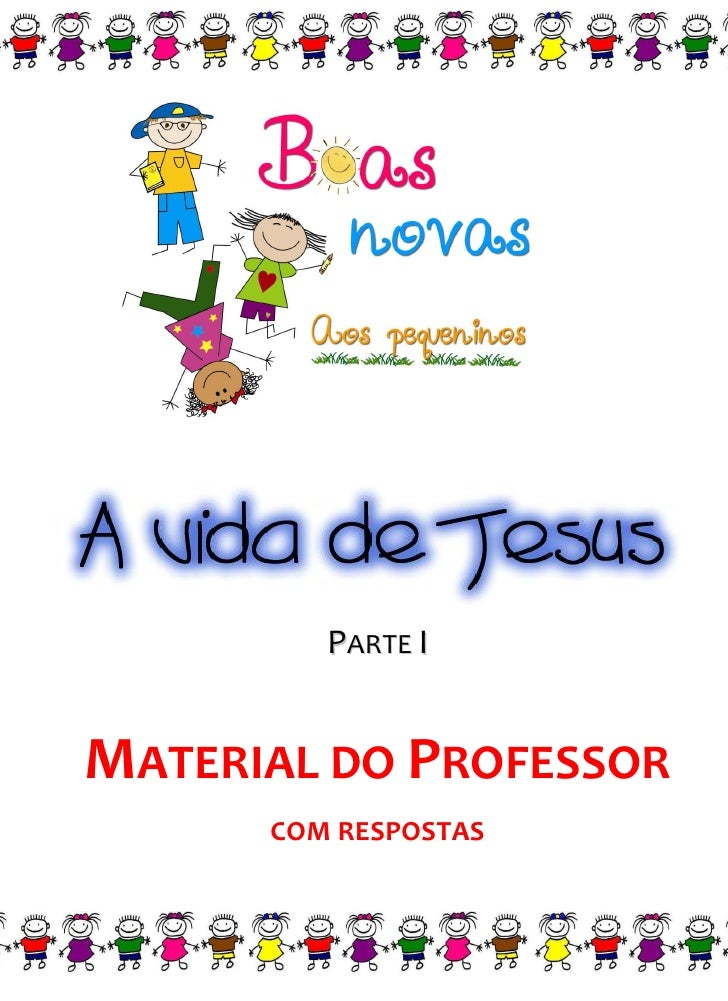 PARTE IMATERIAL DO PROFESSOR      COM RESPOSTAS
