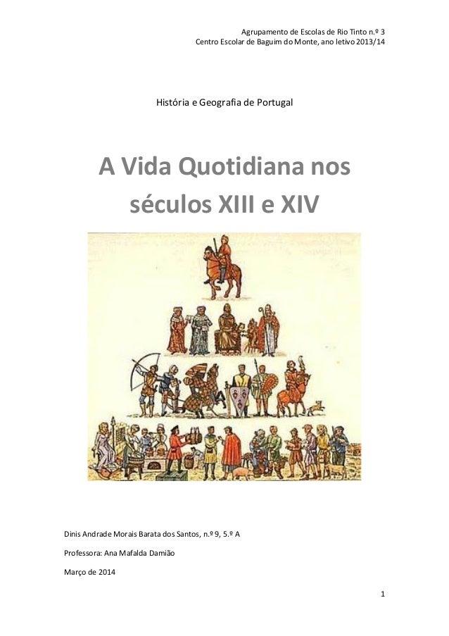 Agrupamento de Escolas de Rio Tinto n.º 3 Centro Escolar de Baguim do Monte, ano letivo 2013/14 1 História e Geografia de ...