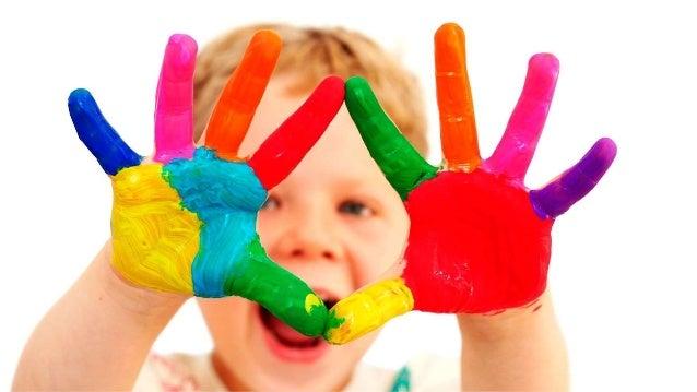 A vida tem a cor que você pinta! Slide 3