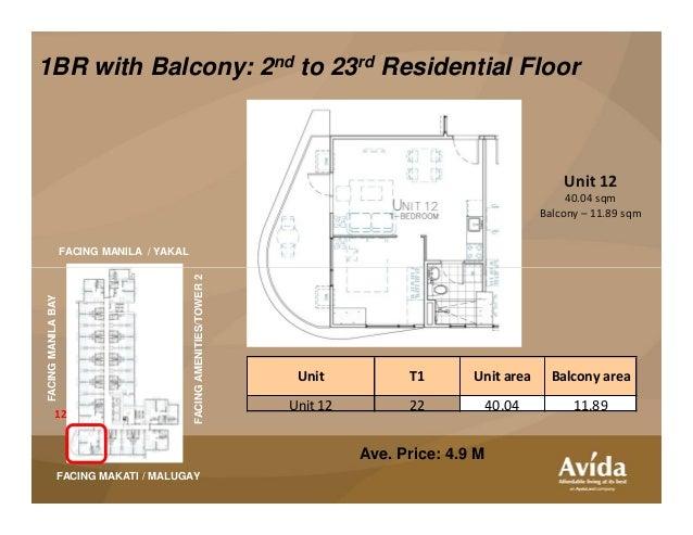 Avida Tower Asten Presentation Kit