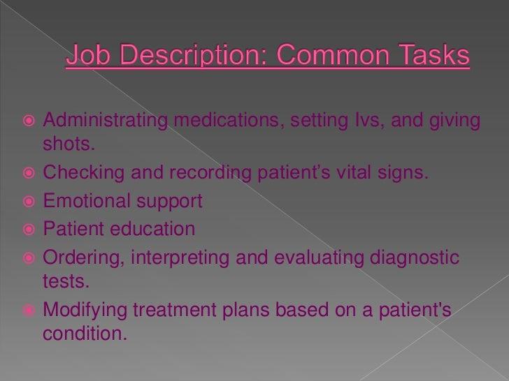 Job Description: ...