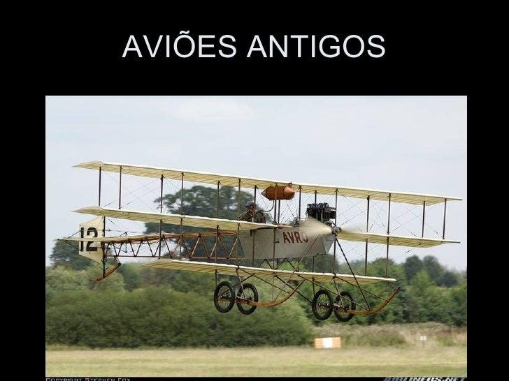 AVIÕES ANTIGOS