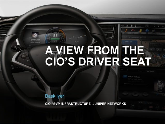 A View From the CIO's Driver Seat