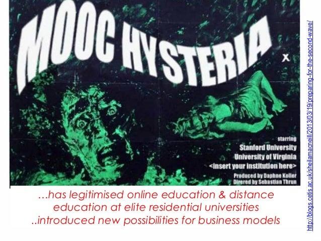 http://blogs.cetis.ac.uk/sheilamacneill/2013/03/19/preparing-for-the-second-wave/  …has legitimised online education & dis...