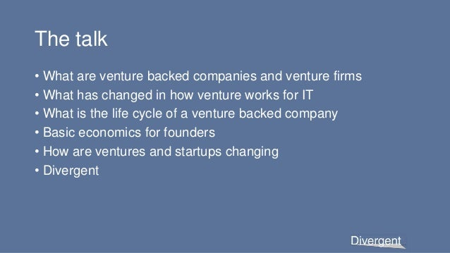US Venture Capital 101:  An introduction for the USAID YALI fellows at Northwestern University Slide 3