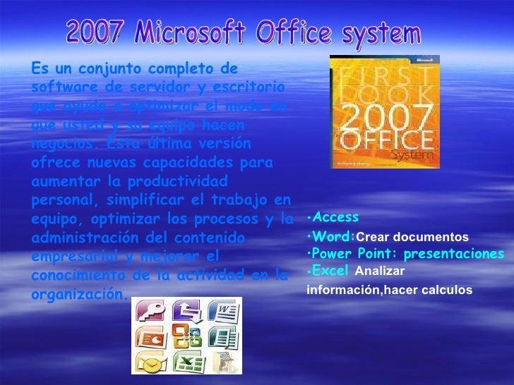Es un conjunto completo de software de servidor y escritorio que ayuda a optimizar el modo en que usted y su equipo hacen ...