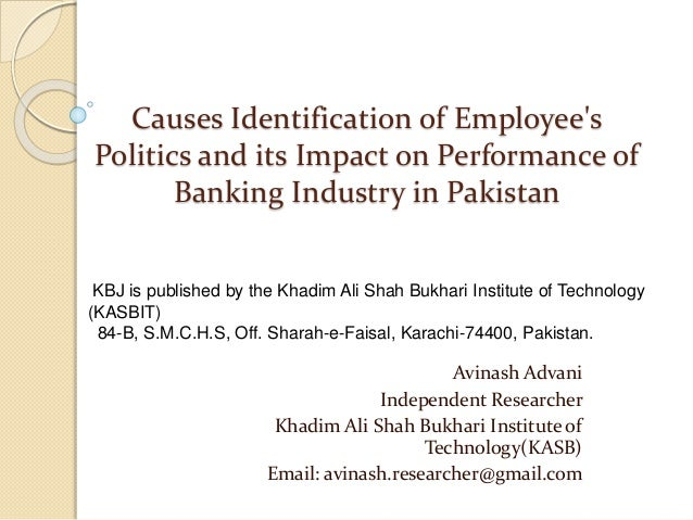 Banking Industry of Pakistan: Performances and Constrains