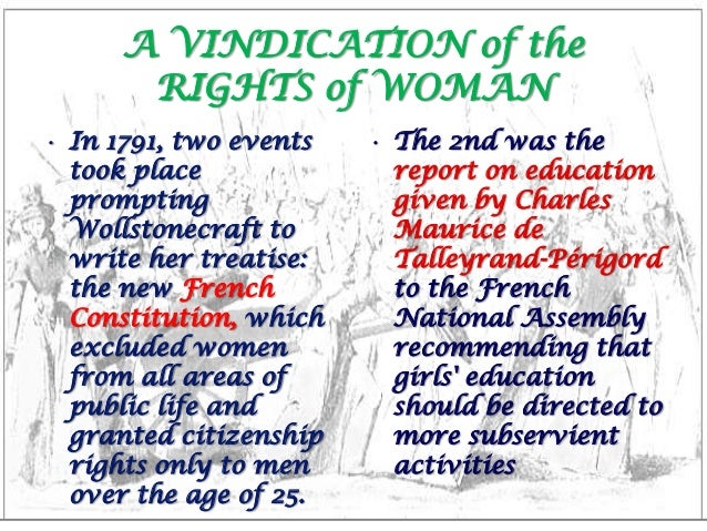 A Vindication of the Rights of Woman by Derya