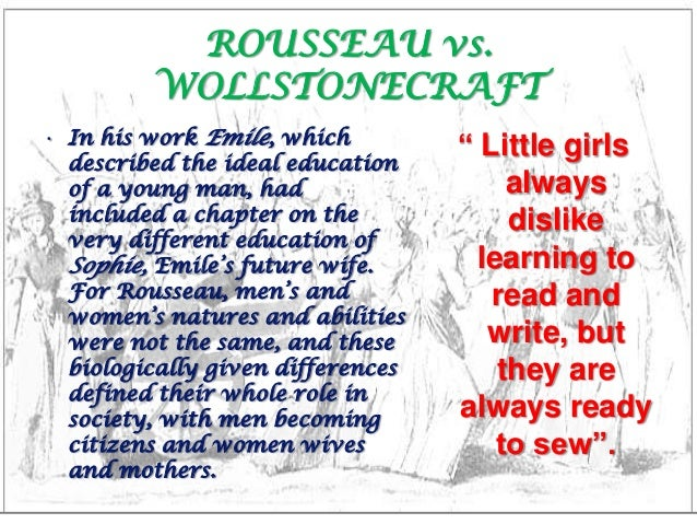 Social Constructionism in Rousseau and Wollstonecraft