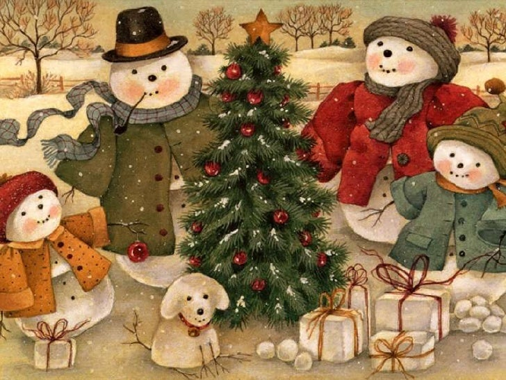 5 - Vintage Christmas Pictures