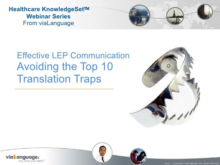 Effective LEP Communication Avoiding the Top 10 Translation Traps