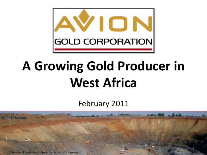 A Growing Gold Producer in                 West Africa                                                        February 201...