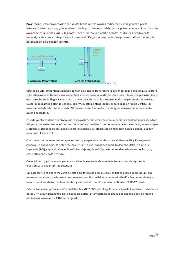 Aviones de reconocimiento electronico