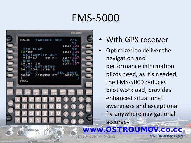 Avionics Flight managment system