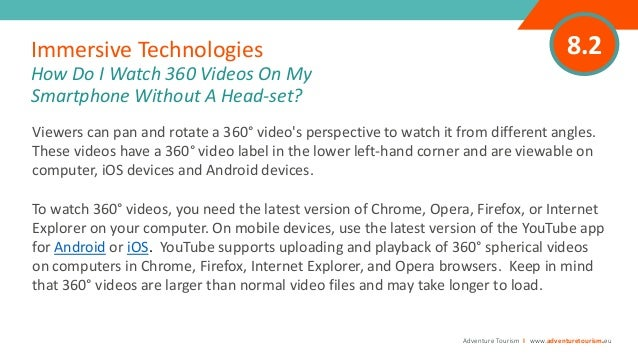 AVIP 01 Module 8 - Immersive Digital Technologies