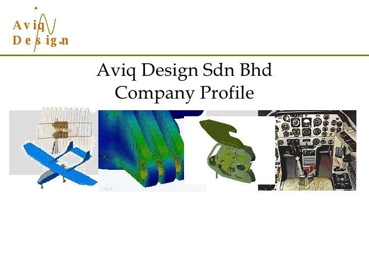 Aviq Design Sdn Bhd Company Profile