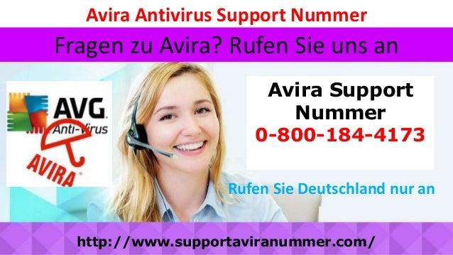 Avira Antivirus Support Nummer Avira Support Nummer 0-800-184-4173 Fragen zu Avira? Rufen Sie uns an http://www.supportavi...