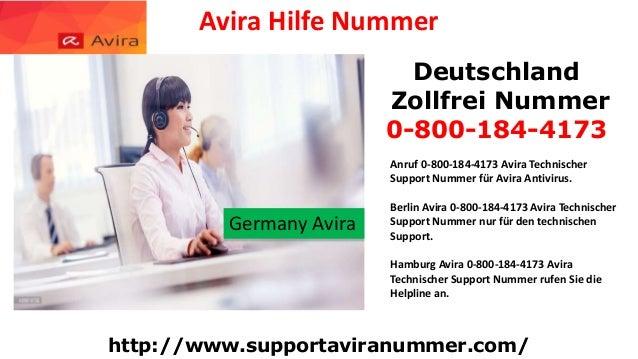 Anruf 0-800-184-4173 Avira Antivirus Support Nummer für Avira Antivirus. Slide 3
