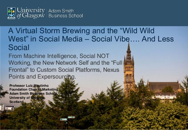 "A Virtual Storm Brewing and the ""Wild WildWest"" in Social Media – Social Vibe…. And LessSocialFrom Machine Intelligence, S..."