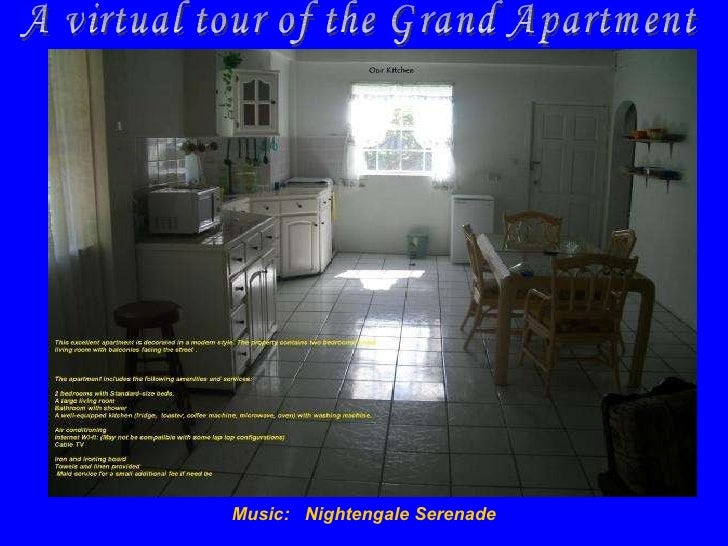 Music:  Nightengale Serenade A virtual tour of the Grand Apartment