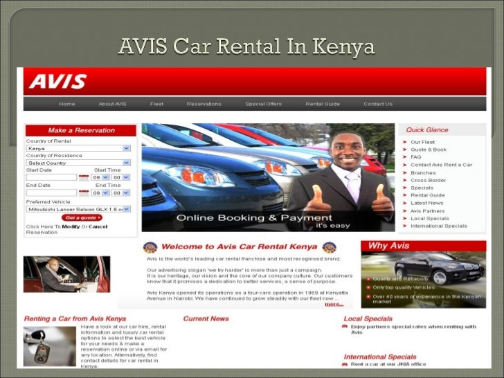 avis kenya car rental luxury car hire kenya. Black Bedroom Furniture Sets. Home Design Ideas