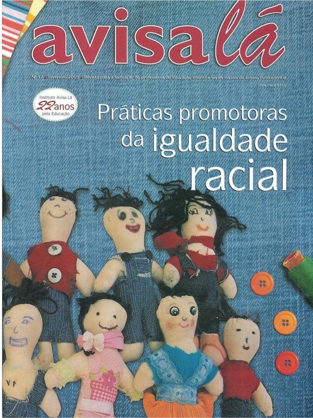 REVISTA - AVISA LÁ - PRÁTICAS PROMOTORAS DE IGUALDADE RACIAL