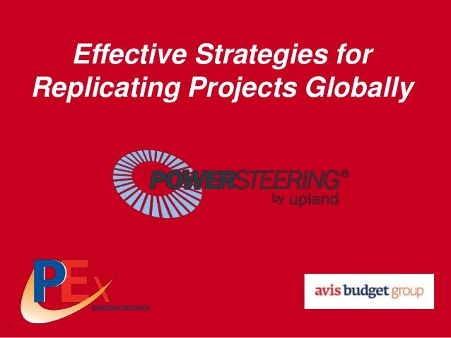 Effective Strategies for Replicating Projects Globally  1
