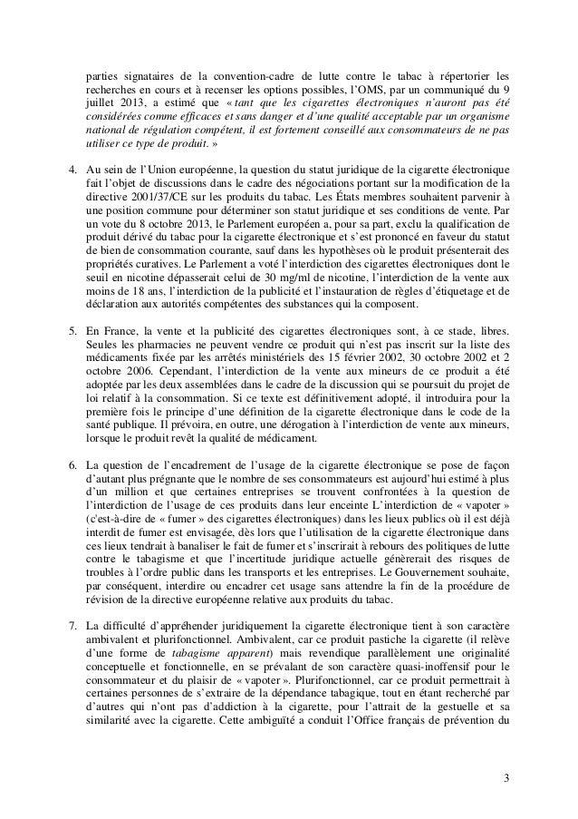 parties signataires de la convention-cadre de lutte contre le tabac à répertorier les recherches en cours et à recenser le...