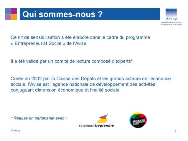 Introduction à l'entreprenariat social