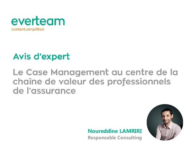 Noureddine LAMRIRI Responsable Consulting