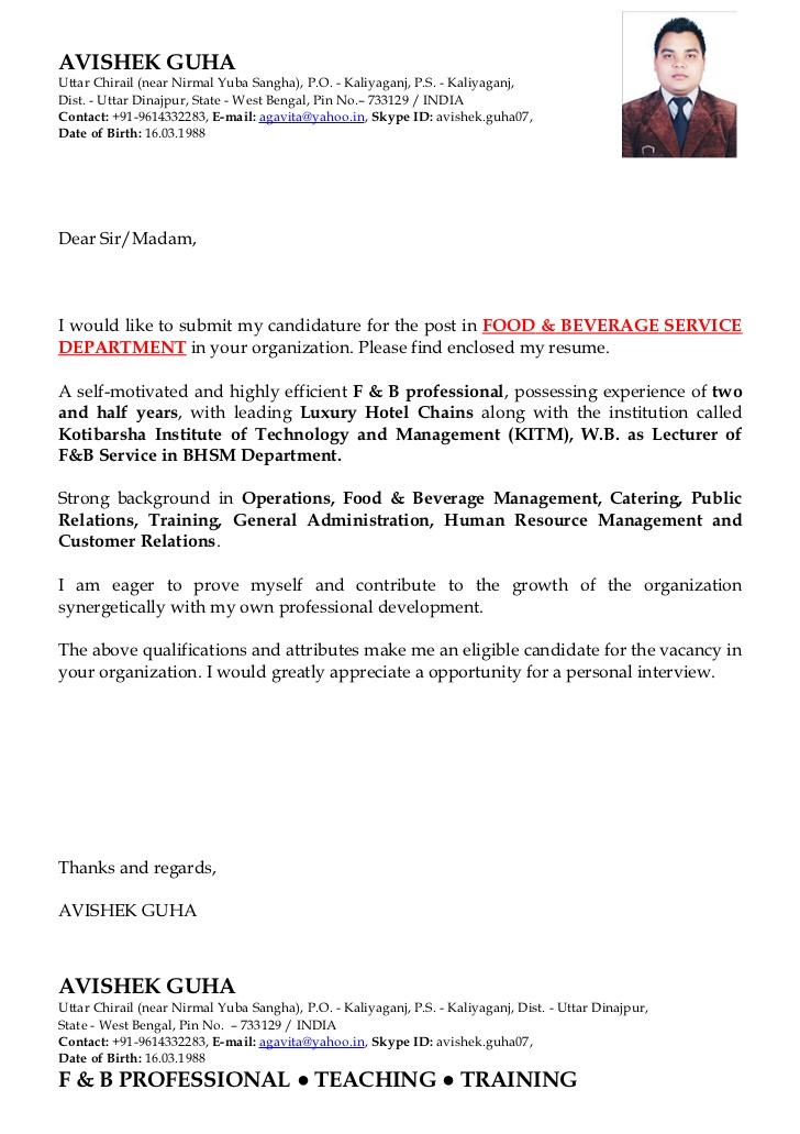 Resume In Hospitality Management Qysm Tk