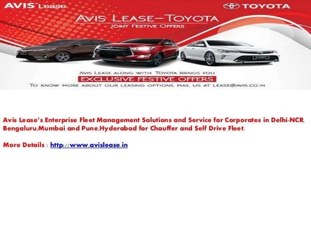 Avislease Enterprise Fleet Management
