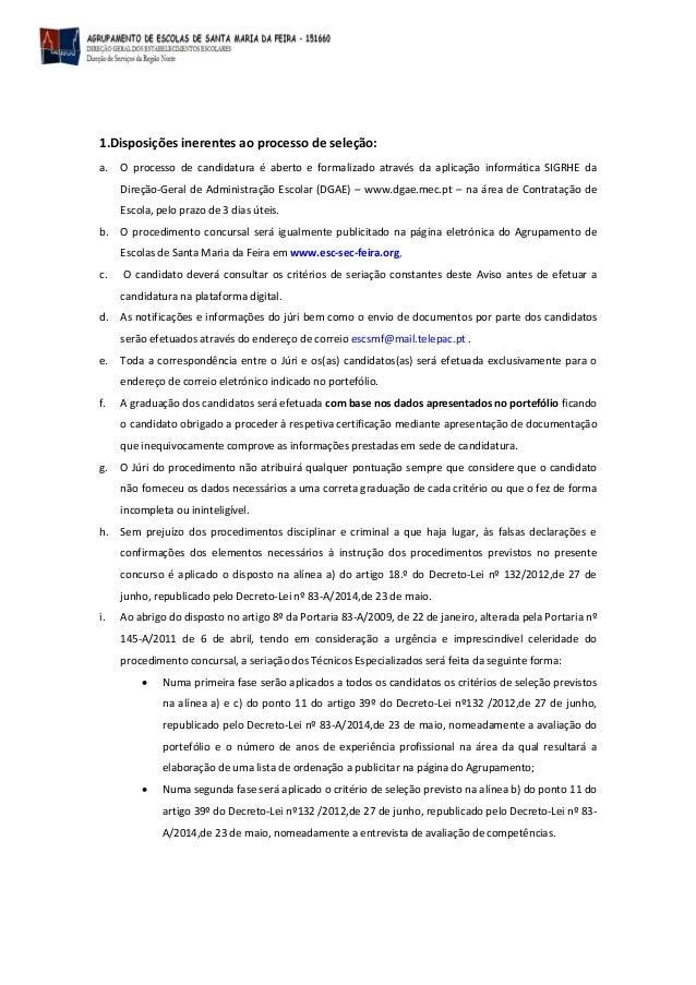 Aviso nº 4  CONTRATAÇÃO DE ESCOLA restauração Slide 2