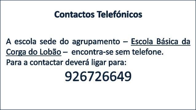 Aviso: telefones