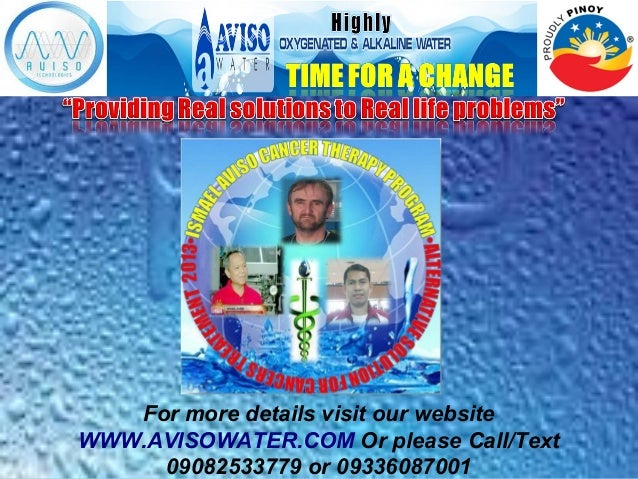 For more details visit our website WWW.AVISOWATER.COM Or please Call/Text 09082533779 or 09336087001