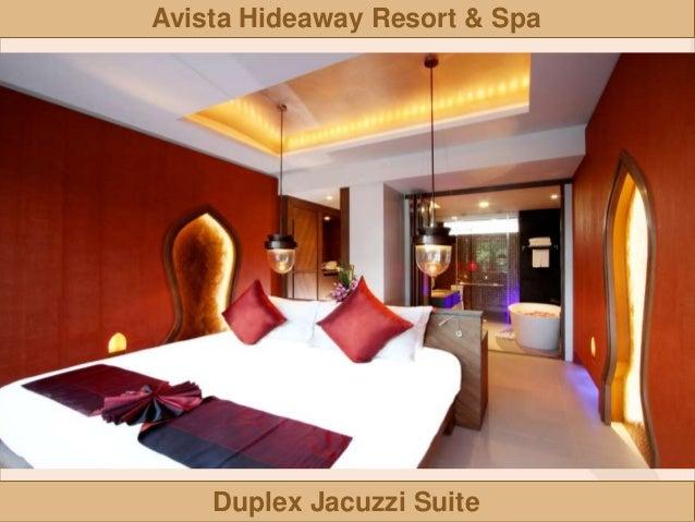 Avista Hideaway Resort Spa Jacuzzi Suite