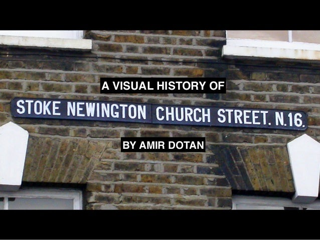 A VISUAL HISTORY OF BY AMIR DOTAN