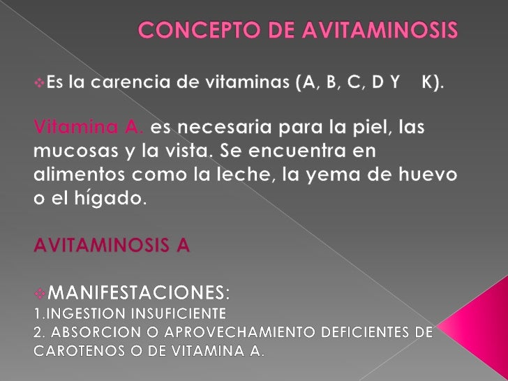 QUE ES AVITAMINOSIS DOWNLOAD