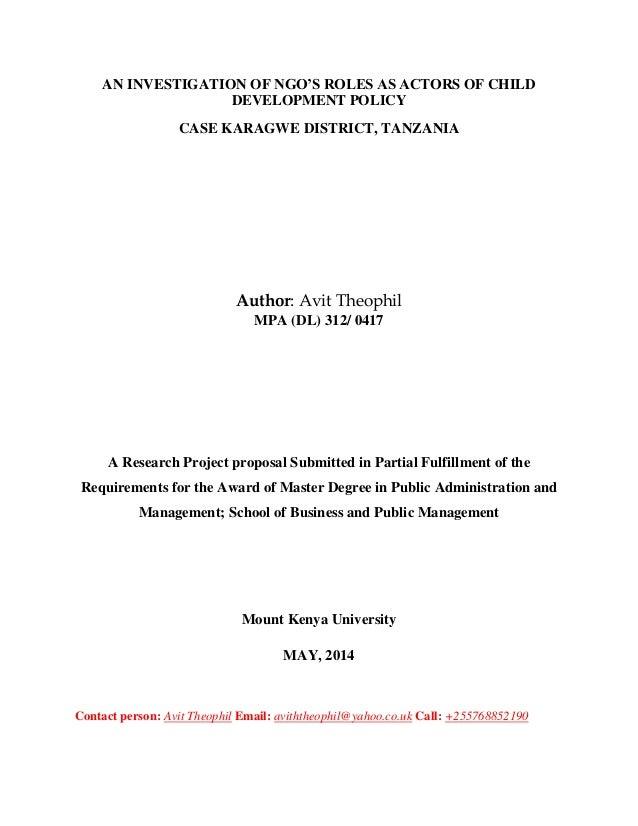 mku thesis format