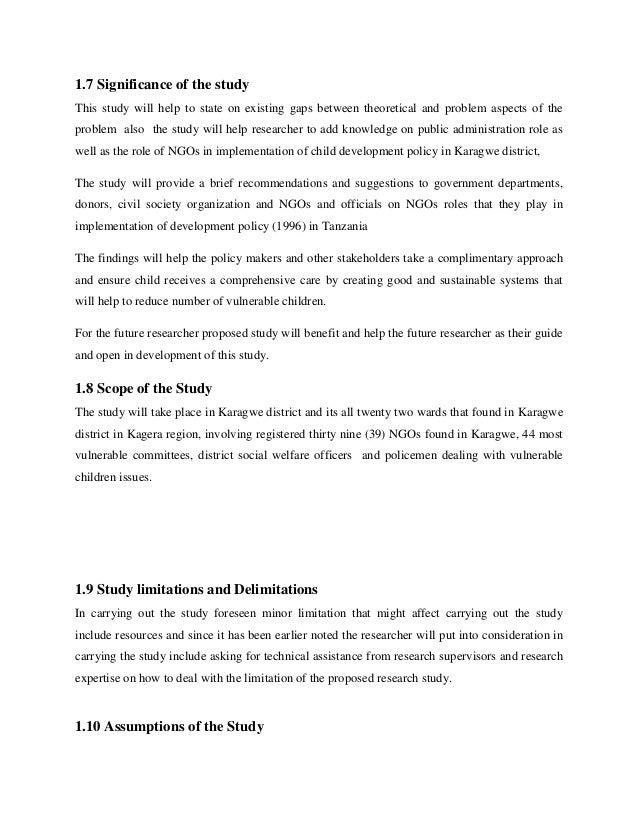 Avit Theophil Proposal On Public Policy Mount Kenya University