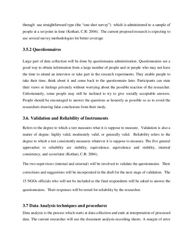 Sample Policy Proposal Roho4senses