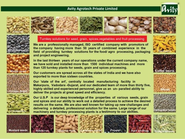 Processing Machines By Avity Agrotech Private Limited